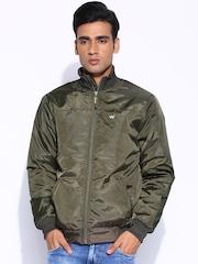 Wildcraft Olive Padded Jacket