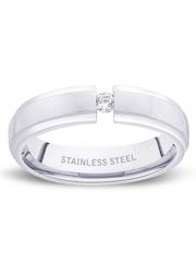 Peora Men Silver-Toned Ring
