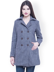 FabAlley Grey Trench Coat