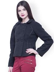 FabAlley Grey Short Coat