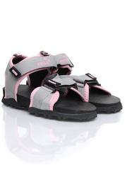Puma Women Roque Ind Grey & Pink Sports Sandals