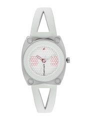 Fastrack Women White Dial Watch NE6026SL01
