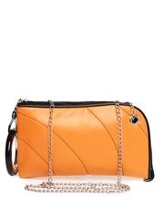 Kiara Orange Clutch