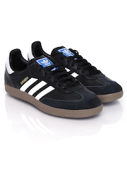 Adidas Originals Men Black Samba Casual Shoes