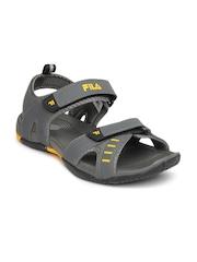 Fila Men Grey Avior Sports Sandals