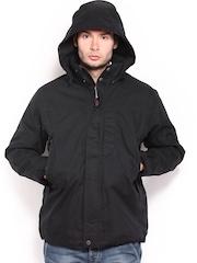 Timberland Men Black Double Jacket