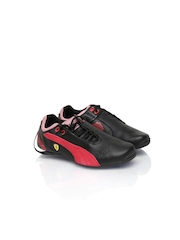 Puma Kids Black Future Cat Ferrari Jr Sports Shoes