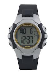 Timex Men Black & Grey Digital Watch