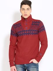 Puma Men Red Sweater