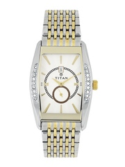 Titan Men Cream-Coloured Dial Watch ND1527BM01