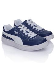 Puma Men Blue Contest Lo Casual Shoes