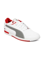 Puma Men White BMW M Pilot Lo Casual Shoes