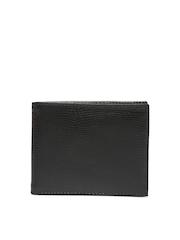 Myntra Men Black Leather Wallet