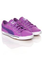 Puma Girls Purple Benecio Glamm Jr Casual Shoes