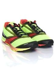 Reebok Men Neon Green One Lite Sports Shoes