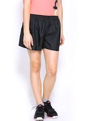 Reebok Women Black Shorts