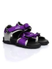 Puma Women Roque II Ind Purple & Grey Sports Sandals
