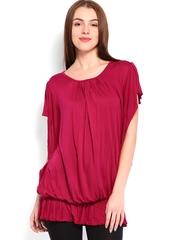 Wrangler Women Dark Pink Top