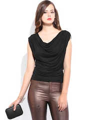 D Muse by DressBerry Women Black Top