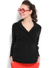 Kook N Keech Black Shrug