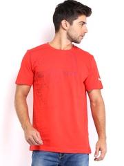 Puma Men Red AFC Printed T-shirt