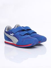 Puma Kids Blue ST Runner V Casual Shoes