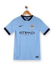 Nike Blue MCFC SS Home Jersey T-shirt