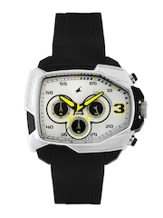 Fastrack Men Chronograph White Dial Watch 38005PP01J