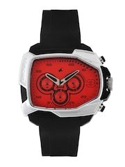 Fastrack Men Red Dial Watch 38005PP03J