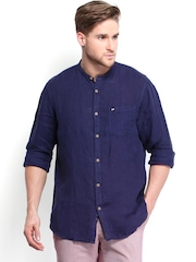 Arrow Sport Men Blue Hudson Semi-Slim Fit Casual Shirt