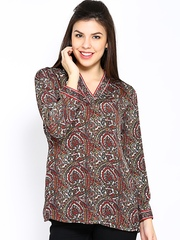 BIBA Women Multi-Coloured Printed Kurti