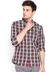 Wrangler Men Multicoloured Checked Casual Shirt