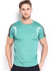 HRX Men Blue Active T-shirt