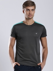 HRX Men Grey Active Pro Gym T-shirt