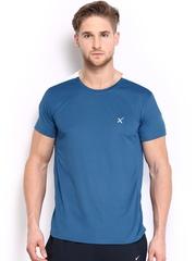 HRX Men Blue Active Pro Gym T-shirt
