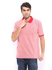 Scullers Men Red Polo T-shirt