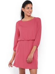 United Colors Of Benetton Pink Blouson Dress