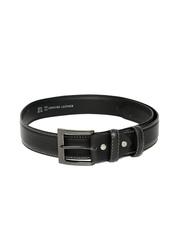 ETC Men Black Leather Belt