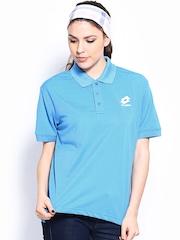 Lotto Women Blue Polo T-shirt