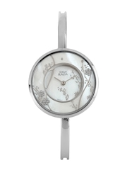 Titan Raga Women Garden of Eden Pearly-White Dial Watch 2541SM01