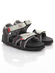Puma Women Grey Techno Ind Sandals