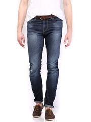 HRX Men Blue Indigo Dyed Jeans