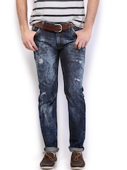 HRX Men Blue Indigo Dyed Jeans