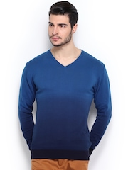 Locomotive Men Blue Sweater