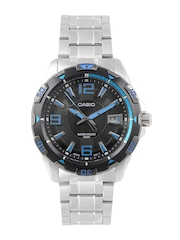 CASIO ENTICER Men Black Dial Analogue Watch A499