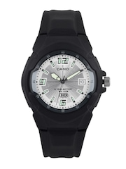 Casio Men Silver-Toned Dial Watch A507