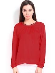 Elle Women Red Top