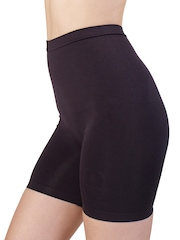 Swee Shapewear Black Seamless Low Waist & Short Thigh Iris Shaper
