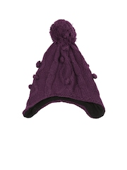 Merrell Women Purple Beanie