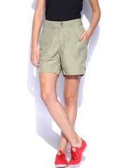 Merrell Women Khaki Shorts